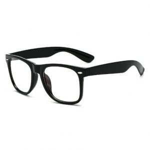 Retro Clear Anti Blocking glasses